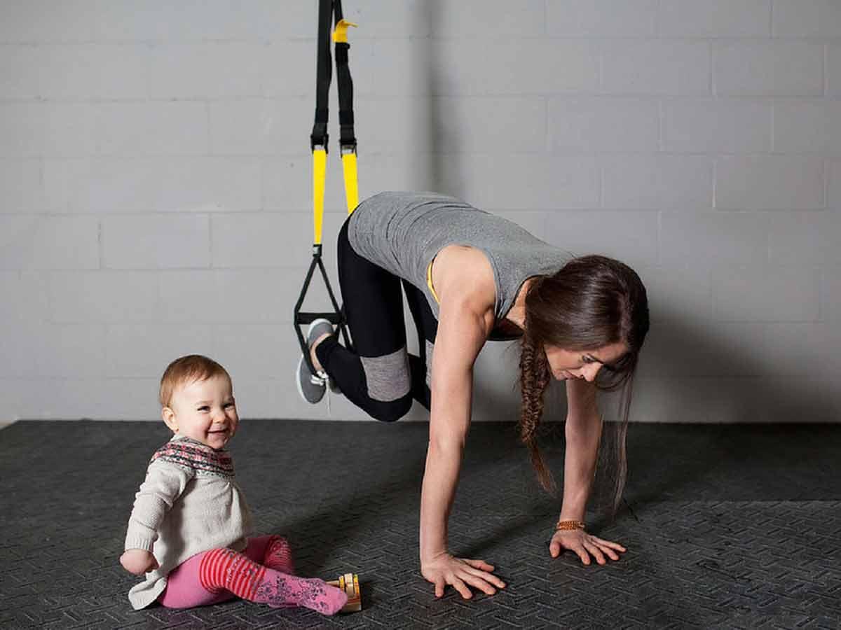 exercice abdo femme apres accouchement