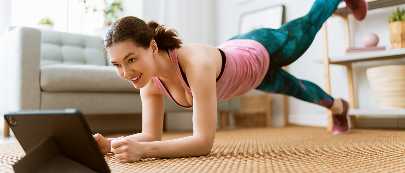 actiz woman femme exercices maison