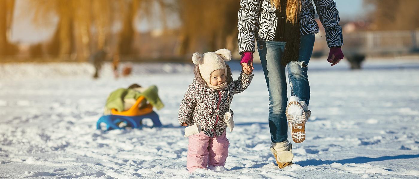 enfant hivers dehors